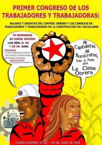 Venezuelan Workers Meet for Worker Control Congress | venezuelanalysis.com | real utopias | Scoop.it