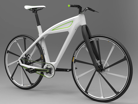 eCycle - Electric Bicycle Concept Design by Milos Jovanovic | VIM | Scoop.it