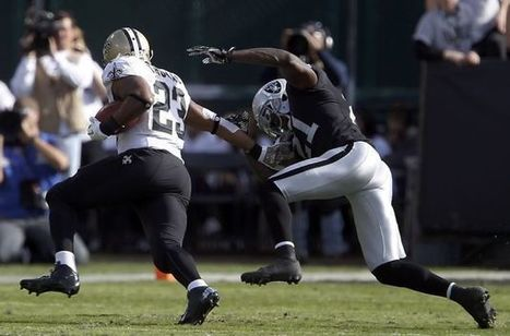 Raiders crushed by Saints, 38-17 - San Francisco Chronicle | Football Team Pictures | Scoop.it