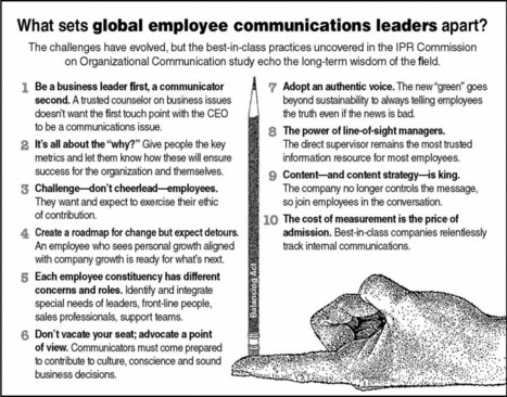 Top Brands Offer a Roadmap For Communicating With Rank-and-File   Corporate Communication & Reputation   Scoop.it