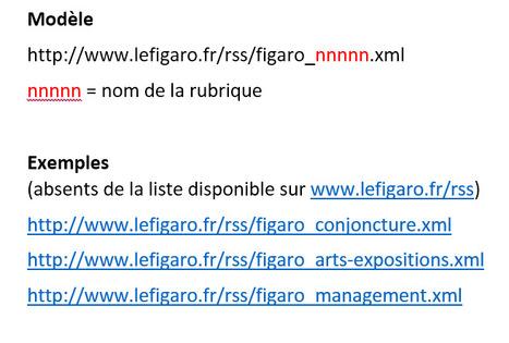 Les fils RSS cachés du Figaro | RSS Circus : veille stratégique, intelligence économique, curation, publication, Web 2.0 | Scoop.it