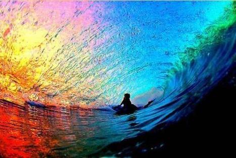 Twitter / NatGeoSpa: Rainbow Wave, Hawaii. Increíble. ... | Hawaii with Aloha | Scoop.it