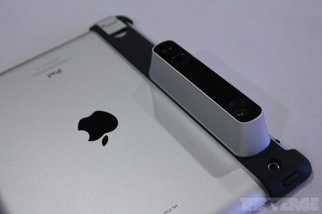 The iPad-mounted Structure Sensor 3D scanner turns your world into a video ... - The Verge | ipad | Scoop.it