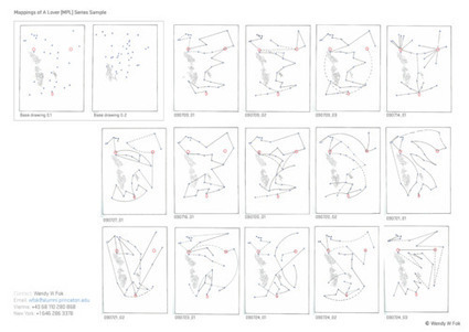 DRAWING: Mappings of A Lover - MPL Series (on-going) | DigitAG& journal | Scoop.it