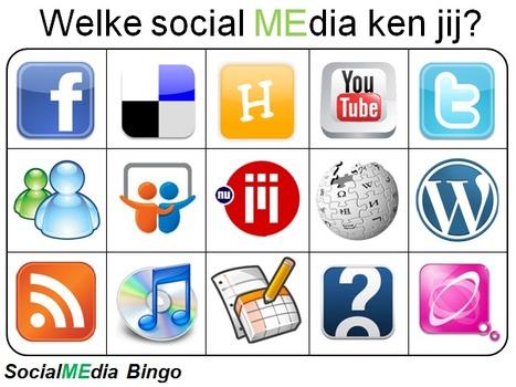 Mediawijsheid bewustwording met behulp van Social MEdia Bingo « Innovatie in ICT en Onderwijs | Onderwijs ICT en mediawijsheid. | Scoop.it
