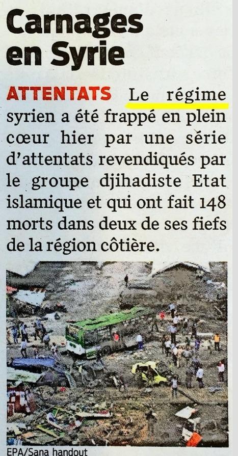 #Syrie :la désinformation est entrée dans l'ADN des #médias - #Antipresse #SlobodanDespot #Siria #Syria #presse | Infos en français | Scoop.it