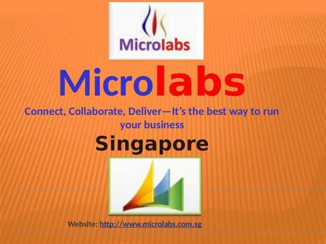 Top ERP Software company is right here in Singapore | Microlabs | Scoop.it