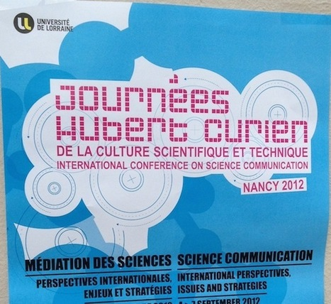 Les Journées Hubert Curien 2012 | Knowtex Blog | sciences et numérique | Scoop.it