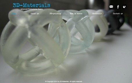 3D-Materials present their new Advanced Photopolymer Resins | 3D_Materials journal | Scoop.it
