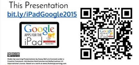 Google Apps for the iPad by Kasey Bell by @ShakeUpLearning #GoogleEduOnAir | Information Literacy | Scoop.it