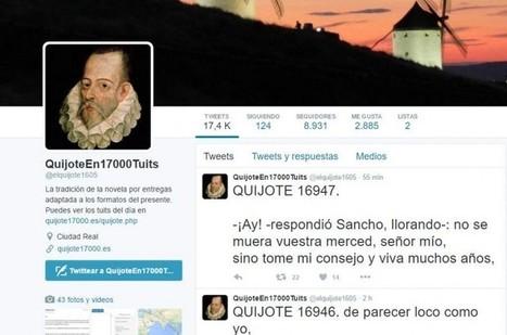 Ya casi está terminado: El Quijote desde Twitter | Creatividad en la Escuela | Scoop.it