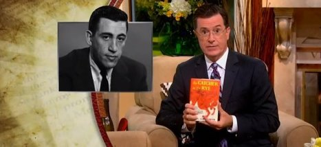 Colbert Explains Everything About J.D. Salinger | Google Lit Trips: Reading About Reading | Scoop.it