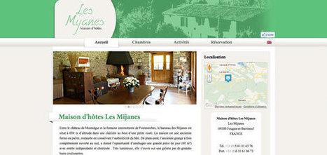 Lancement nouvelle gamme de sites internet pour gîtes et chambres d'hôtes | Chambres d'hôtes et Hôtels indépendants | Scoop.it