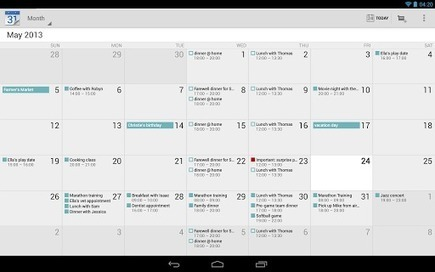 Best Android calendar apps for phones and tablets [December 2013 ... | Android Tips and Tricks | Scoop.it