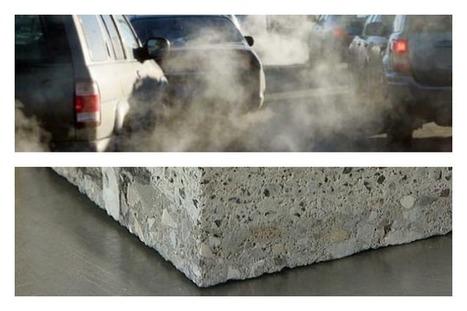Nasce il cemento mangiasmog, l'invenzione da 'Oscar' tutta Made in Italy | AB.Eco | Scoop.it