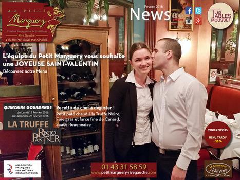 Découvrez toute l'actualité du restaurant Au Petit Marguery | RESTOPARTNER : des restaurants  de qualités à Paris - France | Scoop.it