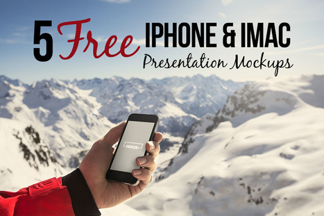 5 Free iPhone & MacBook Mock-ups | Design, social media and web resources | Scoop.it