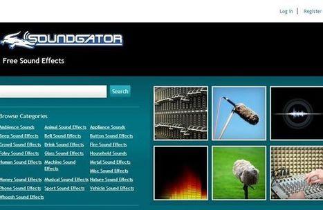 Soundgator, miles de efectos de sonido para descargar gratis | Las TIC y la Educación | Scoop.it