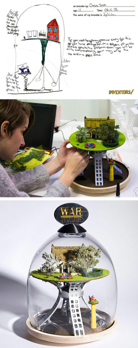 15 Real Products Created from Children's Wildest Ideas | Creativity and learning | Scoop.it