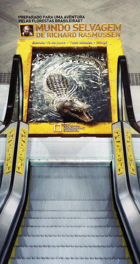 These 30 Creative Ambient Ads Know How To Grab Your Attention | grafica net il meglio dal web | Scoop.it