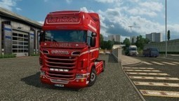 Red Renegade Skin for Scania RJL | ETS2 | Scoop.it