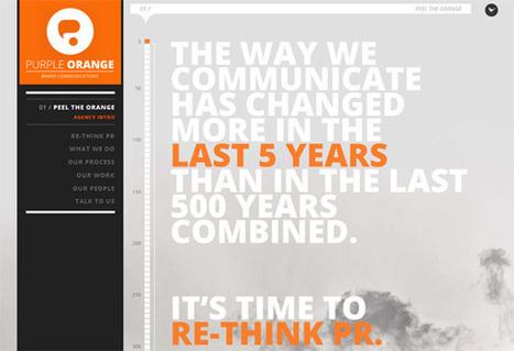 Awesome Uses of Typography in Web Design - Chromatix Blog   The Oscars for web design!   Scoop.it