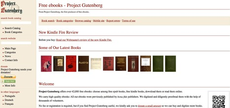 Project Gutenberg - Free Books in Different Languages | ED Tech | Scoop.it