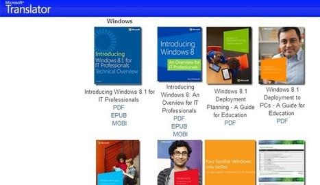 Colección con más de 100 eBooks para saber más sobre productos de Microsoft - Nerdilandia | E-learning, Moodle y la web 2.0 | Scoop.it