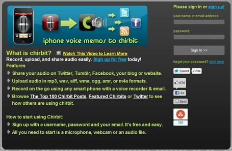 Chirbit - Social Audio | Social media kitbag | Scoop.it
