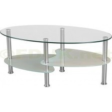 Seconique Cara Frosted Glass Coffee Table | Glass Coffee Tables | Scoop.it
