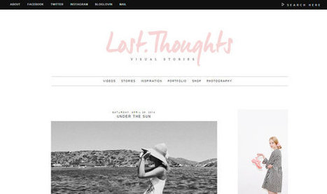Lost Thoughts Blogger Theme | Blogger themes | Scoop.it