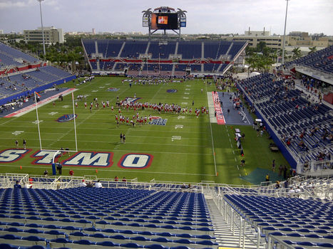 FAU to receive $12 million over 6 years to name football stadium after private prison company | Sports Facility Management | Scoop.it