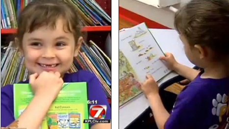 5-Year-Old Girl Reads 875 Books a Year, School Library Can't Keep Up | Daring Ed Tech | Scoop.it