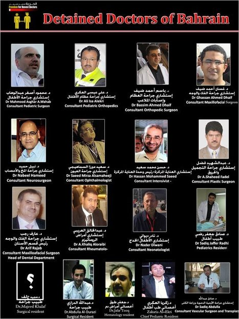 The detained Bahraini Doctors! | Human Rights and the Will to be free | Scoop.it