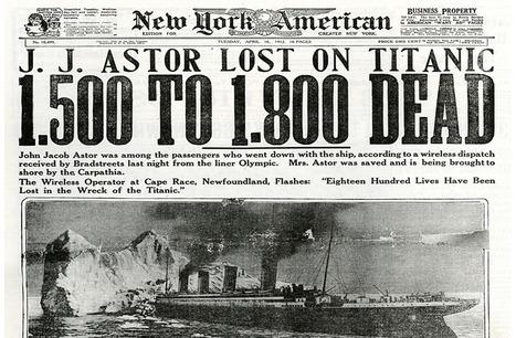 Pero, ¿dónde está el 'Titanic'? | Carlos García Santa Cecilia | Libro blanco | Lecturas | Scoop.it