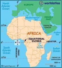 Map of Guinea Ecuatorial | Guinea Ecuatorial, Masha Hamby | Scoop.it