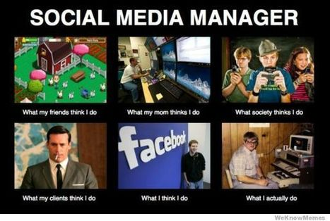 Mad Hatter: Social Media Managers and what they really do | Social Media Delivered | Digital-News on Scoop.it today | Scoop.it