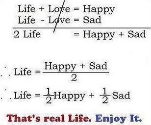 The mathematics of life | Intelligent humor | Scoop.it