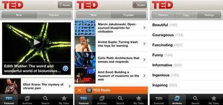 TED App comes to the iPhone | Learning, Teaching & Leading Today | Scoop.it