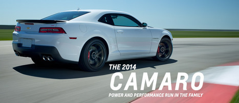 2014 Camaro: Performance Cars | Chevrolet | Cars | Scoop.it