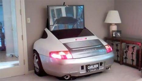 Porsche 996 TV Entertainment Center | scatol8® | Scoop.it