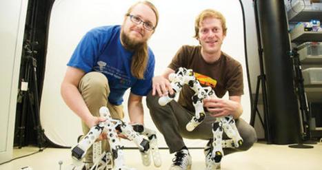 Un robot s'auto-corrige grâce à son imprimante 3D intégrée   Vous avez dit Innovation ?   Scoop.it