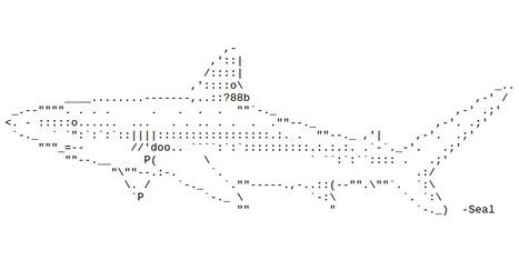 ASCII Art Dictionary: Sharks | ASCII Art | Scoop.it