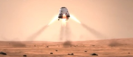 """SpaceX and NASA discussions on sending a """"Red Dragon"""" to look for signs of life at the Martian poles 