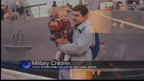 Report shows military children have increased risk for social, behavioral problems - CBS42 | social problems | Scoop.it