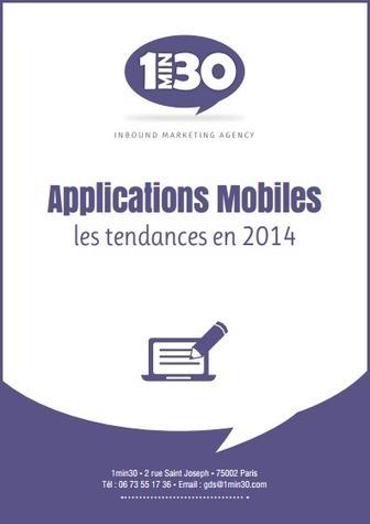 Applications mobiles : les 9 tendances 2014 | Le Mobile | Scoop.it