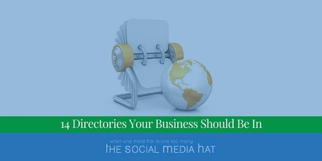 14 Directories Your Business Should Be In | The Content Marketing Hat | Scoop.it