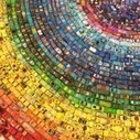 Rainbow Toy Car Installation Made from 2,500 Cars | Colossal | Visual Inspiration | Scoop.it