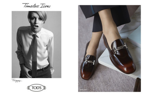 Twiggy, Jane Birkin and Jean Shrimpton in Tod's Campaign | Le Marche & Fashion | Scoop.it