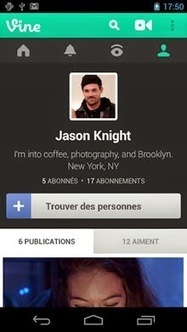 Vine |Meilleures applications android | titandroid | Scoop.it